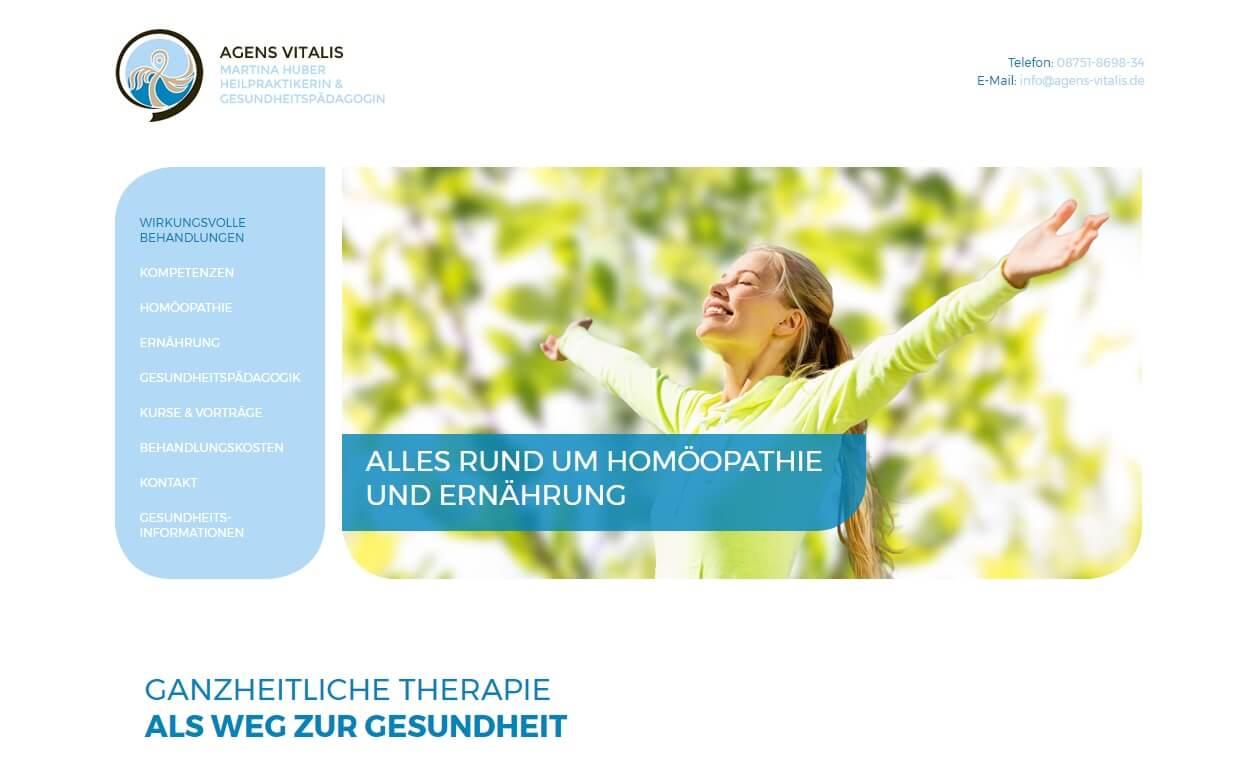 Image of Heilpraktiker der klassischen Homöopathie: Praxis Agens Vitalis Martina Huber in Mainburg bei Ingolstadt