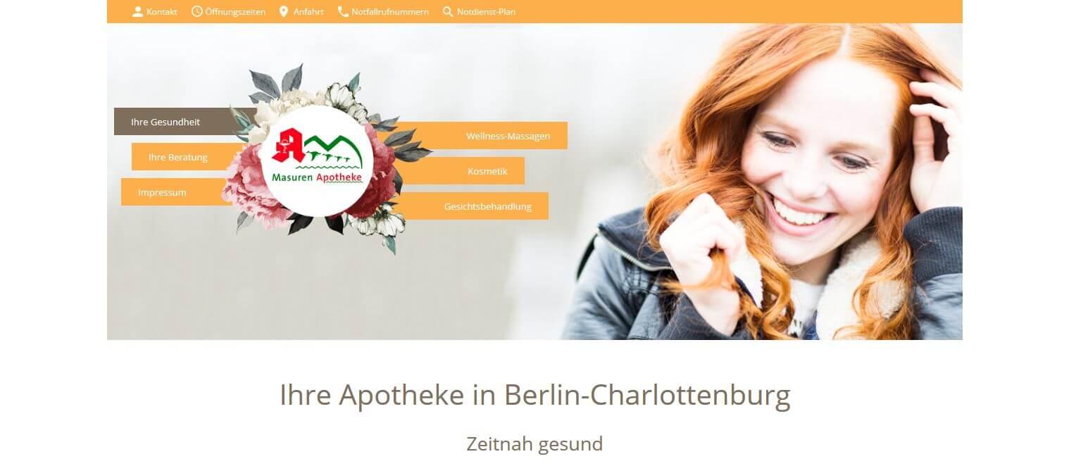 Image of Apotheke mit Wellnessfaktor in Berlin-Charlottenburg: Masuren-Apotheke, Jutta Krebs e.K.