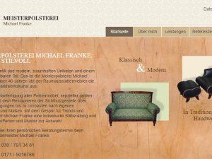 Bild zum Artikel: Die Meisterpolsterei Michael Franke in Berlin-Steglitz