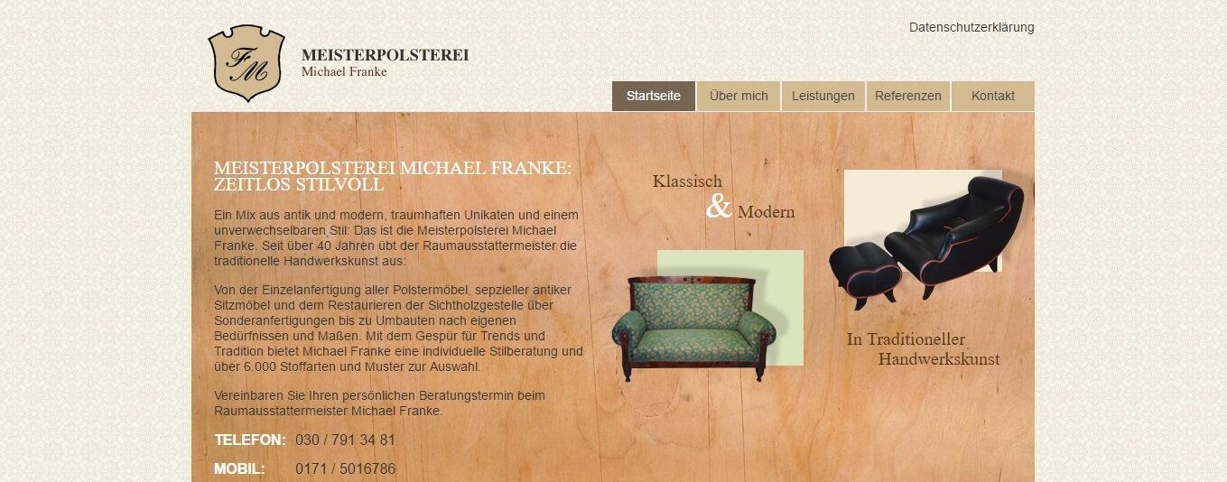 Image of Die Meisterpolsterei Michael Franke in Berlin-Steglitz