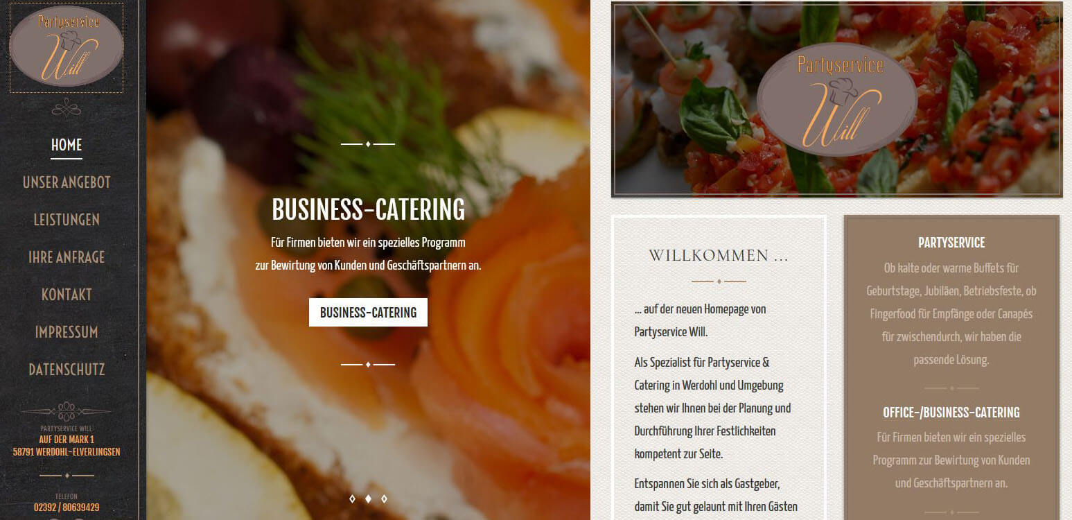 Image of Kreatives Catering in Werdohl-Elverlingsen: Partyservice Tina Will