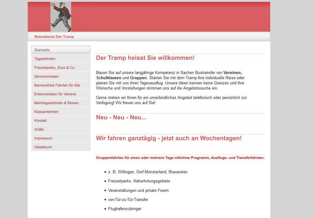 Image of Reiseagentur Der Tramp in Soest: Ihr Experte für individuelle Busfahrten