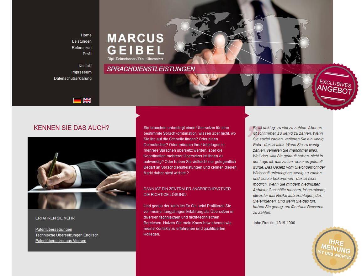 Image of Technische Übersetzungen in Viersen: Sprachdienstleistungen Marcus Geibel