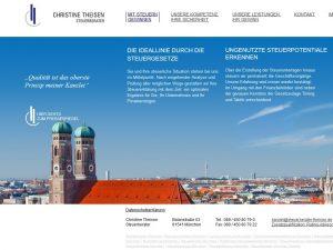 Bild zum Artikel: Fundierte Steuerberatung in München: Steuerberaterin Christine Theisen