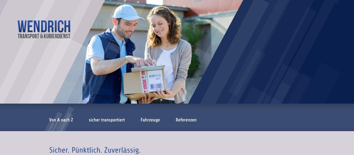 Image of Pünktlicher Transport: Transport & Kurierdienst Wendrich in Markränstädt OT Frankenheim bei Leipzig