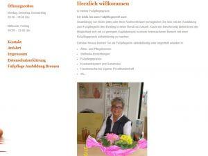Bild zum Artikel: Fußpflegeausbildung: Intensivkurs in der Fußpflegeschule Ute Cramer in Bremen