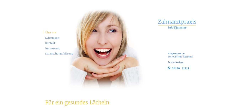 Image of Hochwertige zahnmedizinische Behandlungen: Zahnarzt Said Djassemy in Idstein
