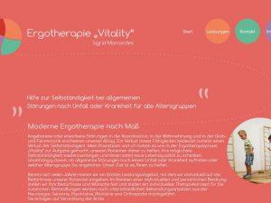"""Bild zum Artikel: Ergotherapeutische Behandlungen: Praxis """"Vitality"""" in Nordhausen"""