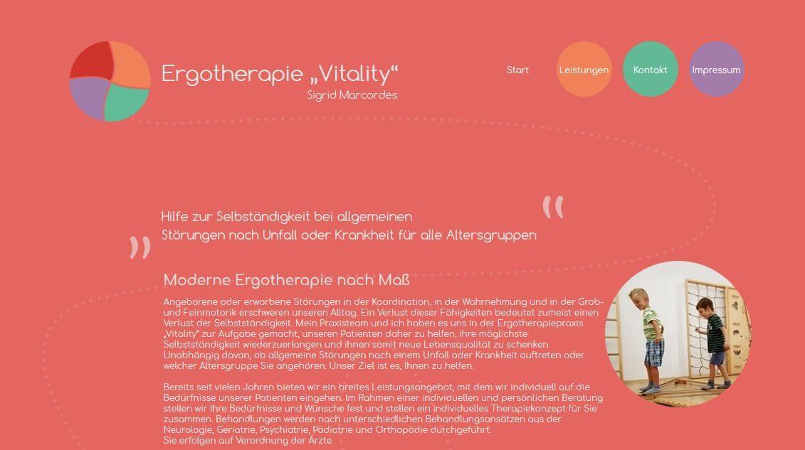 """Image of Moderne Ergotherapie in Nordhausen: Ergotherapie """"Vitality"""" Sigrid Marcordes"""