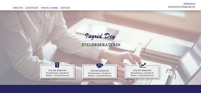 Image of Zuverlässige Steuerberatung in Essen: Steuerberaterin Ingrid Dey