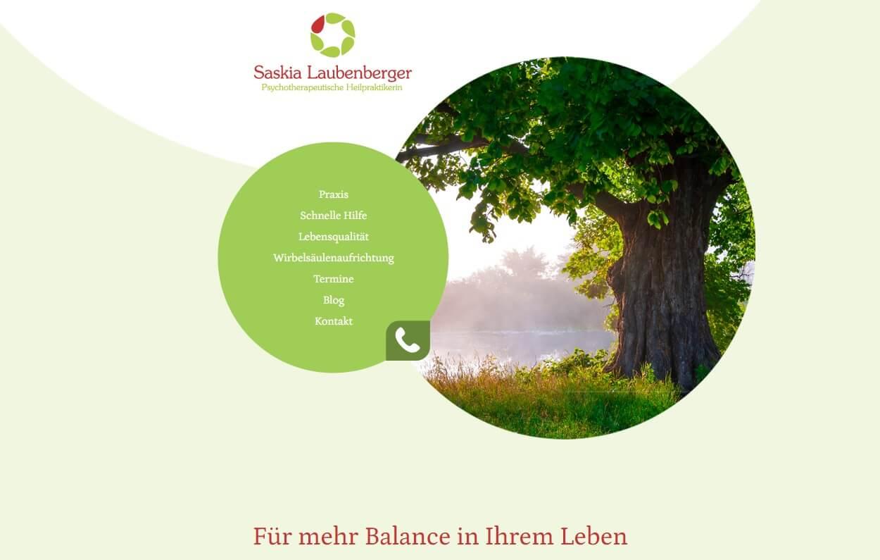 Image of Empathische psychotherapeutische Heilpraktikerin Saskia Laubenberger in Friedrichshafen