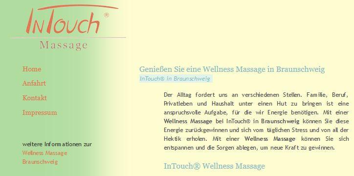 Image of Wohlbefinden steigern: InTouch® Massage bei Dirk Wetzel in Braunschweig