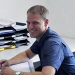 Christian Scheiba Pflegedienstleiter der Ökumenische Sozialstation in Wörth
