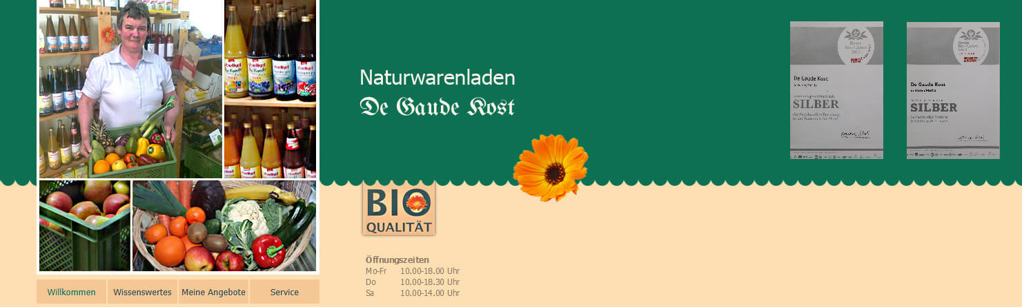 Image of Bioprodukte aus ökologischem Landbau: Naturwarenladen de Gaude Kost in Waren Müritz