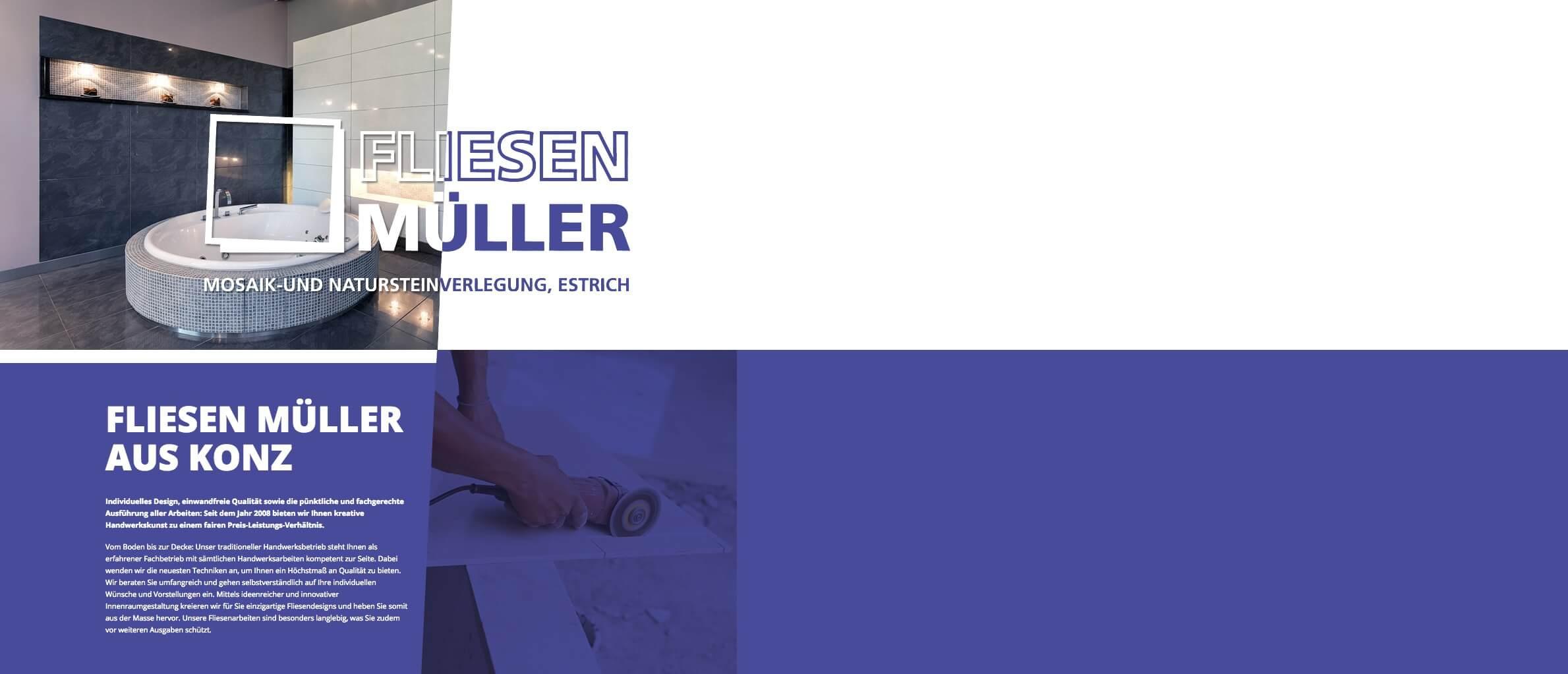 Image of Professionelle Fliesen-, Mosaik- und Natursteinverlegung: Fliesen Müller in Konz