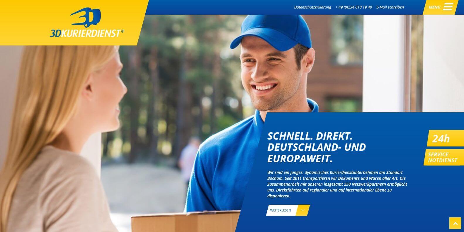 Image of 3D-Kurierdienst UG in Bochum