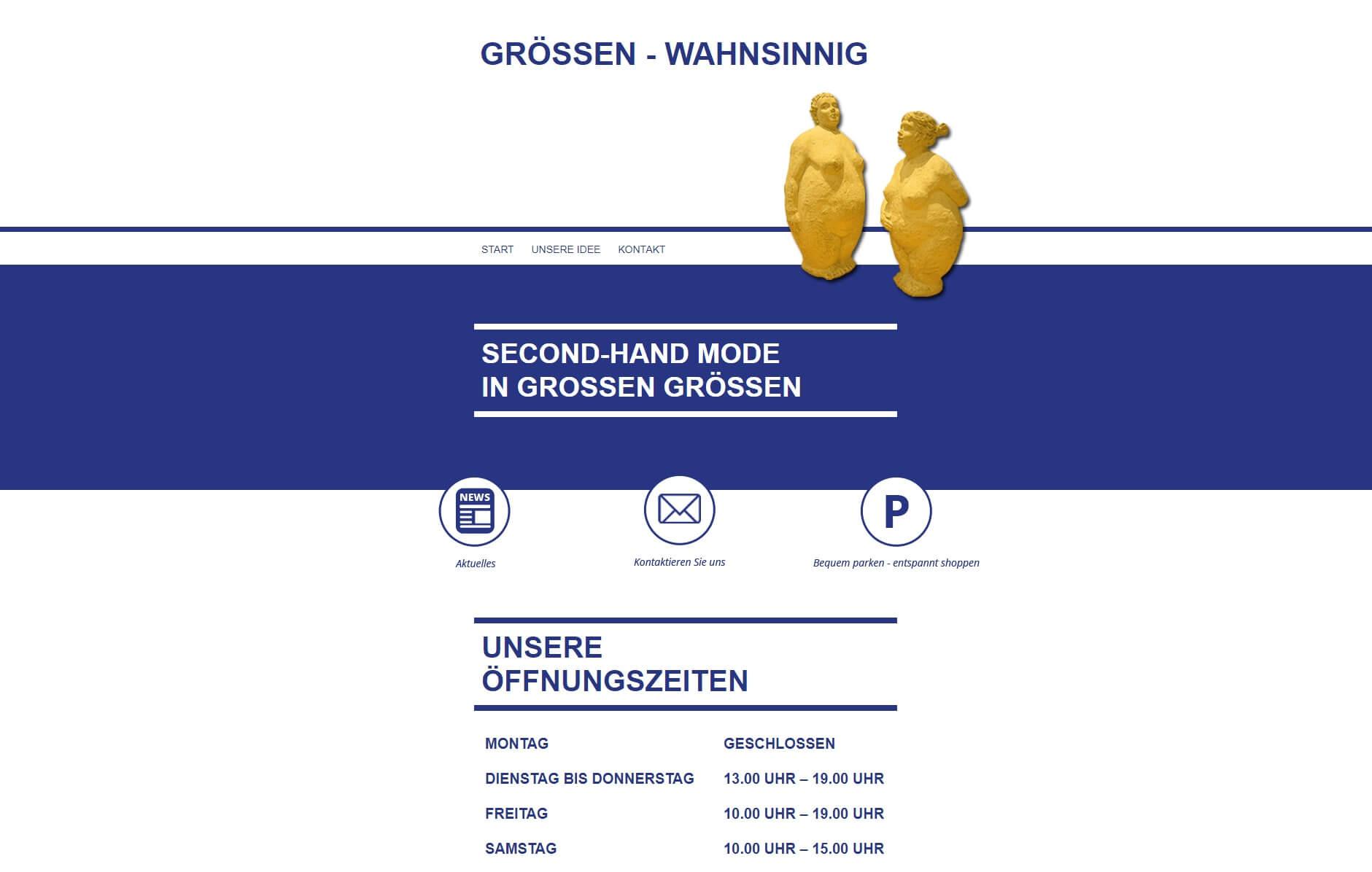 Image of Stylische Second-Hand-Mode in Komfortgrößen: Größen-Wahnsinnig in Ulm