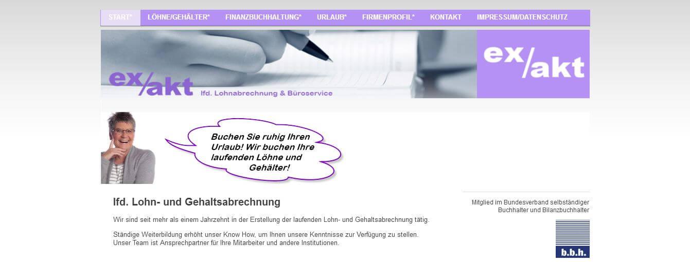 Image of ex/akt lfd. Lohnabrechnung & Büroservice Gundula Sziemant-Pulver in Frankfurt am Main