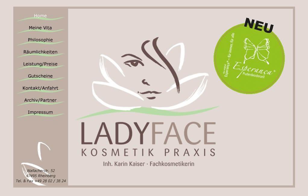 Image of Ladyface Kosmetikpraxis in Rheinberg
