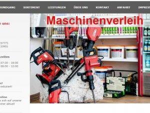 Bild zum Artikel: Maschinenverleih in München