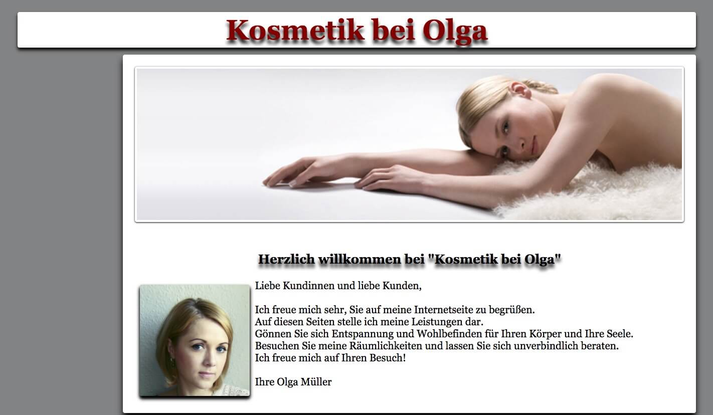 Image of Kosmetik bei Olga in Wesel