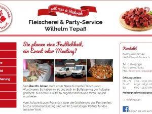 Bild zum Artikel: Fleischerei & Party-Service Wilhelm Tepaß in Wesel