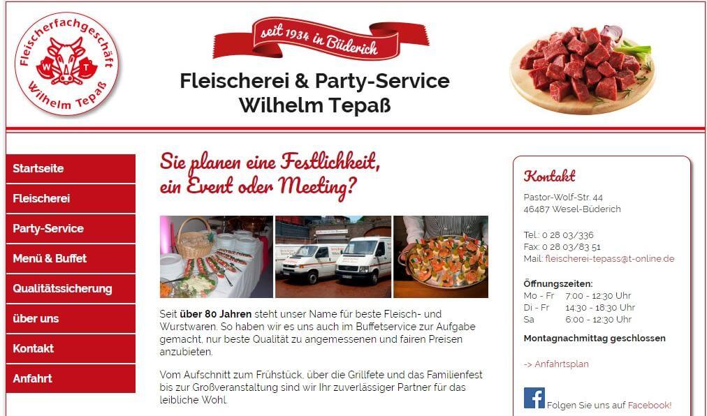 Image of Fleischerei & Party-Service Wilhelm Tepaß in Wesel