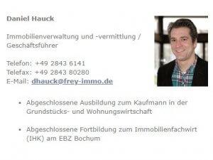 Bild zum Artikel: Professionelle Immobilienvermittlung in Rheinberg: Hausverwaltung & Immobilien Frey GmbH