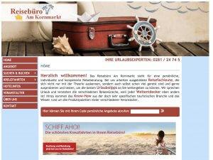 Bild zum Artikel: Individuelle und kompetente Reiseberatung: Reisebüro am Kornmarkt in Wesel