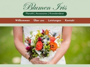 Bild zum Artikel: Hochwertige Floristik: Blumen Iris in Hünxe