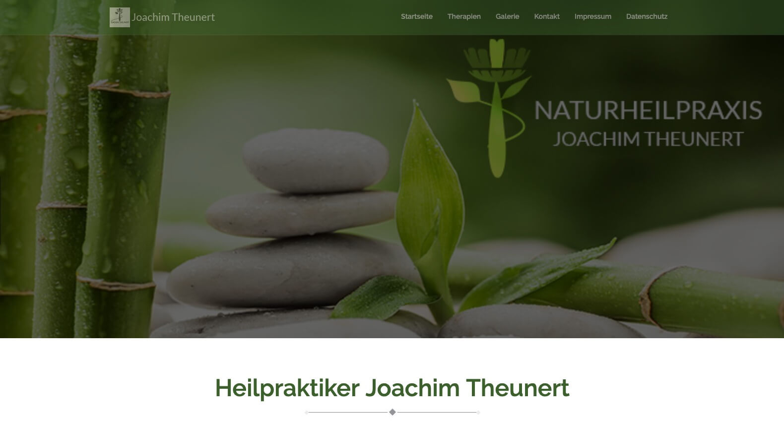 Image of Ganzheitliche Naturheilpraxis in Nürnberg: Heilpraktiker Joachim Theunert