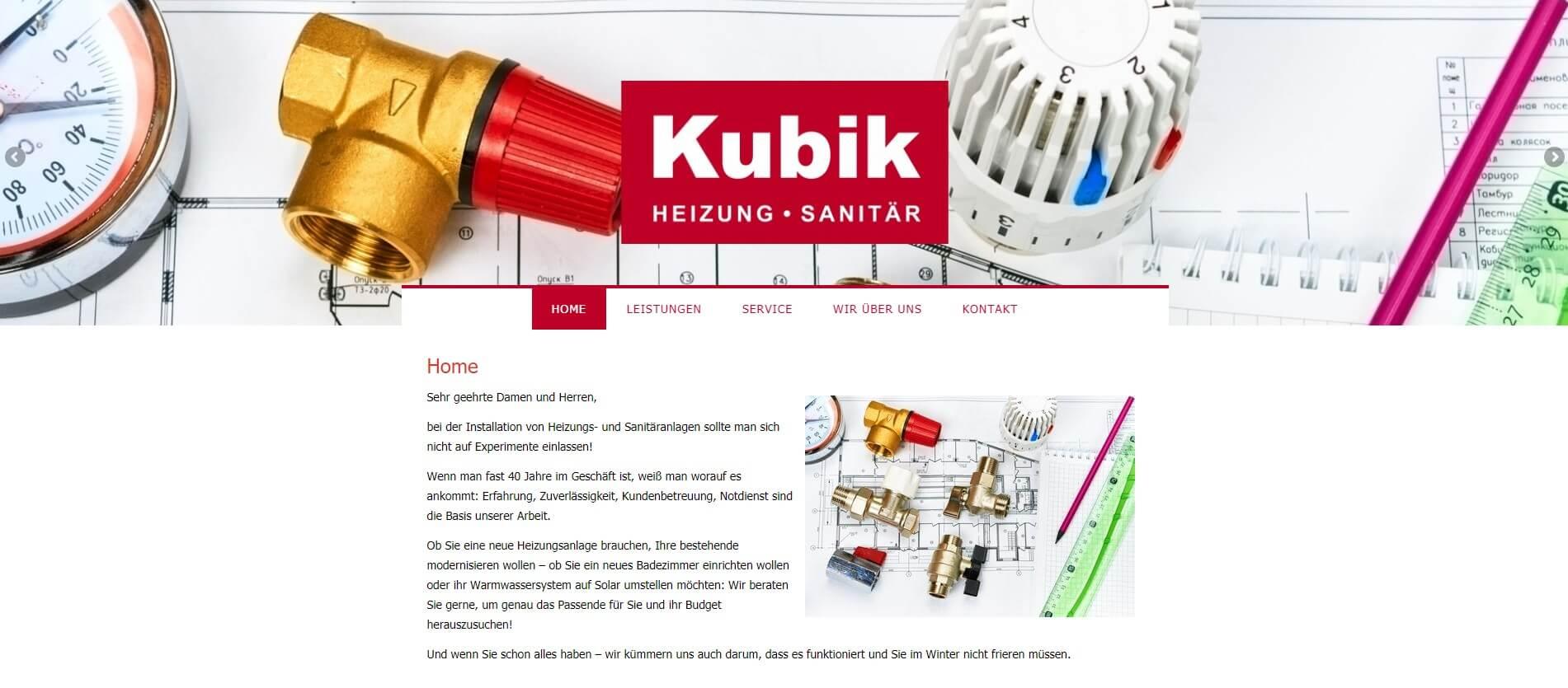 Image of Kubik Heizungs-Sanitär-GmbH in Rheinberg