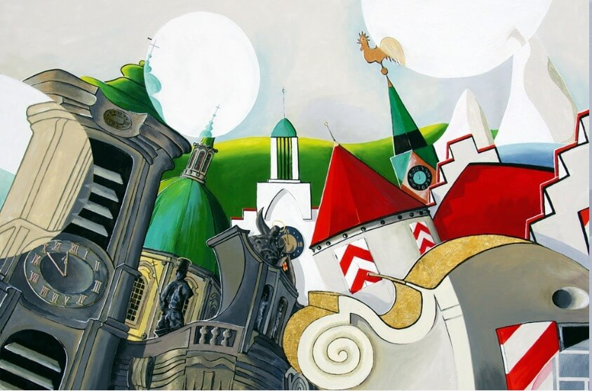 """Image of Maler und Grafiker Heiko Holdenried: """"Galerie Holdenried Art"""" in Weingarten"""
