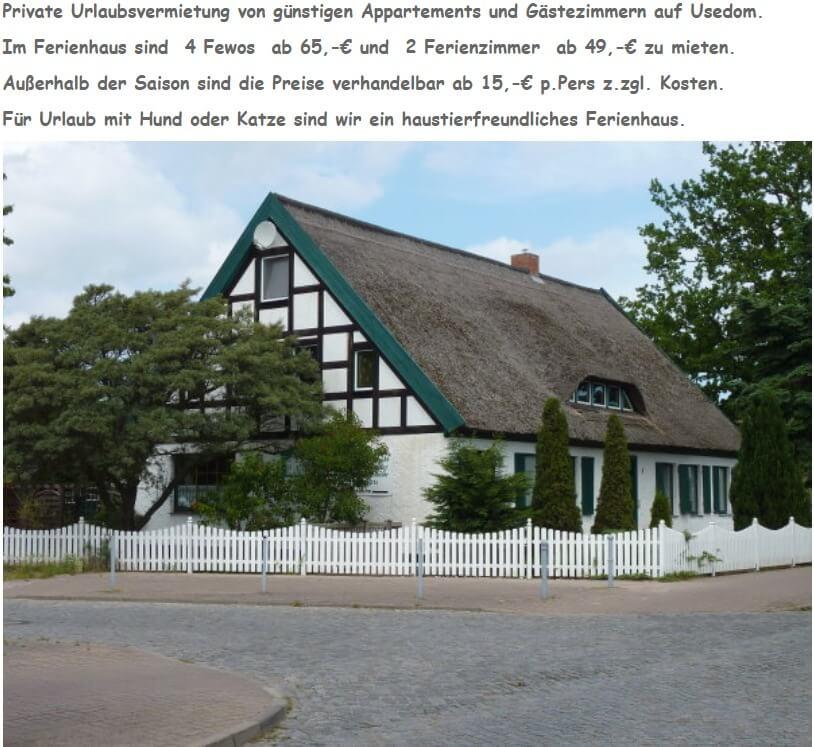 Image of Landhaus Ponader in Zinnowitz