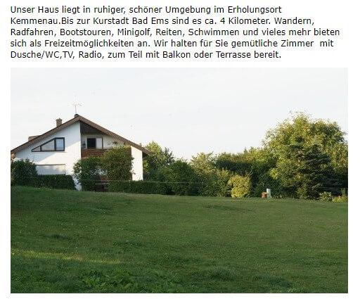 Image of Pension Taunusblick in Kemmenau