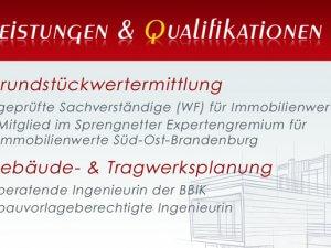 Bild zum Artikel: Immobilien- und Grundstücksbewertungen: Sachverständigen- und Ingenieurbüro Dipl.-Ing. Marion Rosinus in Königs Wusterhausen