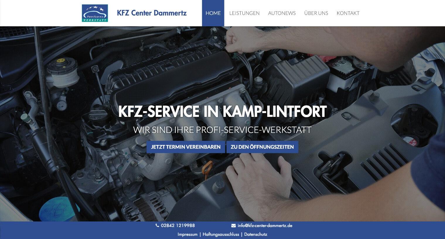 Image of Full-Service Autowerkstatt: Kfz Center Dammertz in Kamp-Lintfort