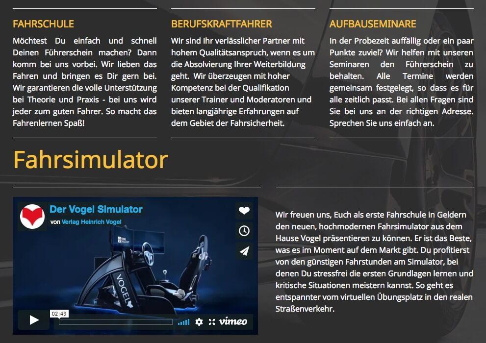 Image of Ausbildung in sämtlichen Führerscheinklassen: Fahrschule Schramm GmbH in Geldern