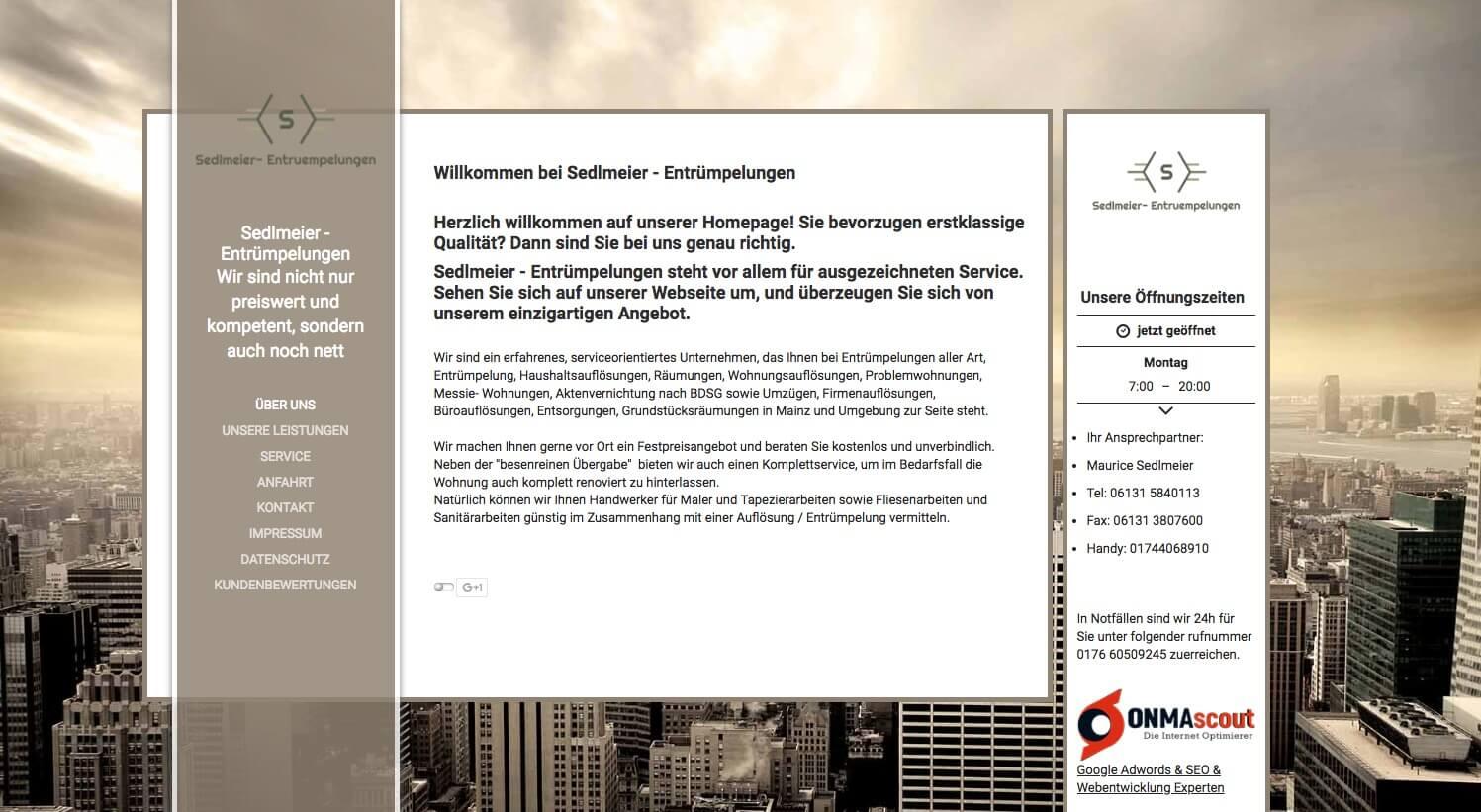 Image of Kompetenter Service bei Haushaltsauflösungen: Sedlmeier- Entrümpelungen in Mainz