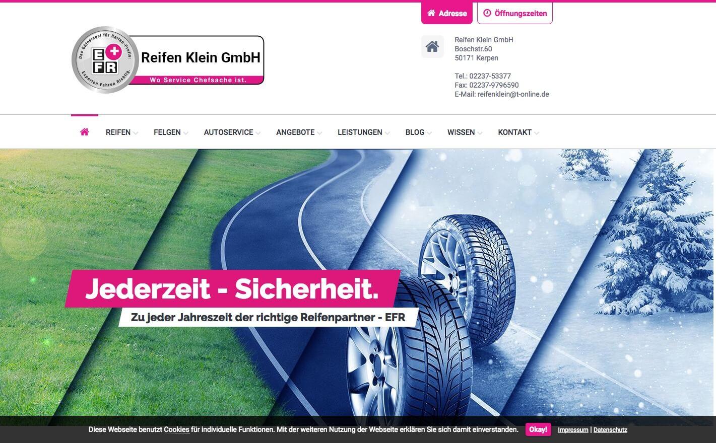 Image of Reifen Klein GmbH in Kerpen