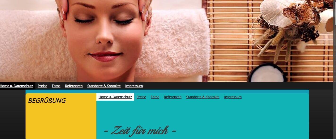 """Image of Massagen und Entspannungskurse in Rheinberg: """"Zeit für mich"""" – Martina Nürenberg"""