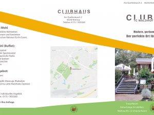 Bild zum Artikel: Der perfekte Raum für Trauerfeiern: Das Clubhaus des TC Waldhof in Bottrop Vonderort nahe Oberhausen