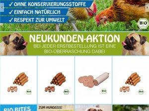 Bild zum Artikel: Hochwertige Bio Snacks für Hunde: Hundewurst von Cold & Dog