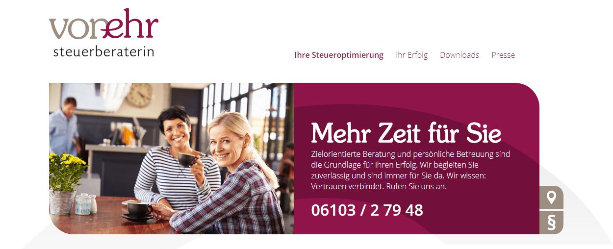 Image of Steuerberaterin Roswitha von Ehr: Anerkanntes Steuerbüro in Langen