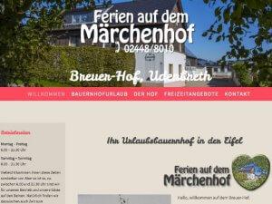 Bild zum Artikel: Idyllischer Ferienhof mit familiärer Atmosphäre: Breuer-Hof in Hellenthal