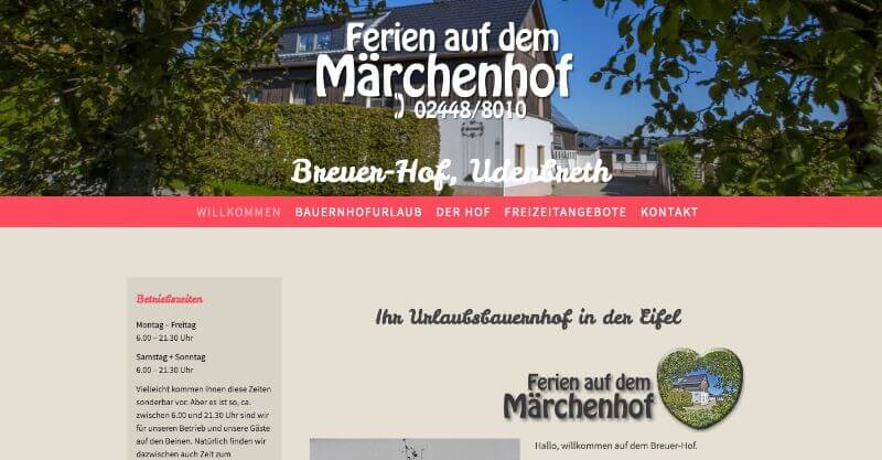 Image of Idyllischer Ferienhof mit familiärer Atmosphäre: Breuer-Hof in Hellenthal