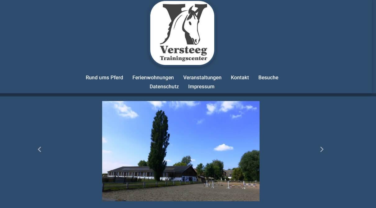 Image of Trainingscenter Versteeg GmbH in Kevelaer: Freundliche Unterkunft für Mensch und Pferd