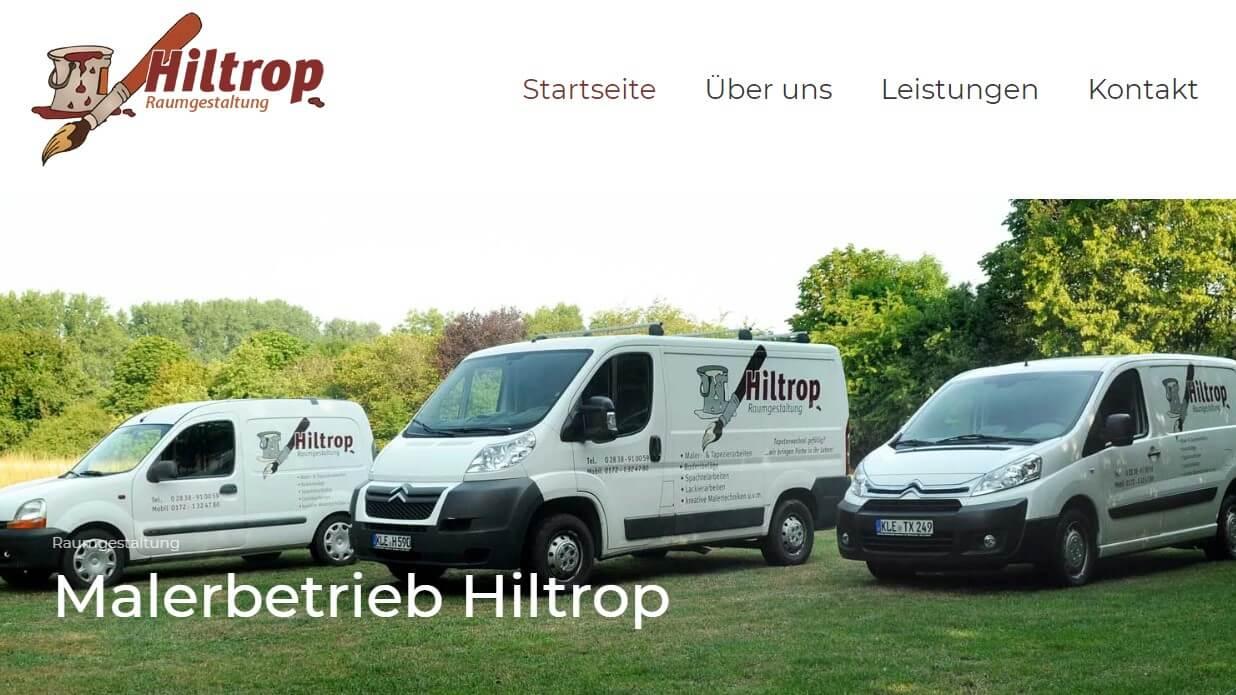 Image of Maler aus Überzeugung: Raumgestaltung Daniel Hiltrop in Geldern
