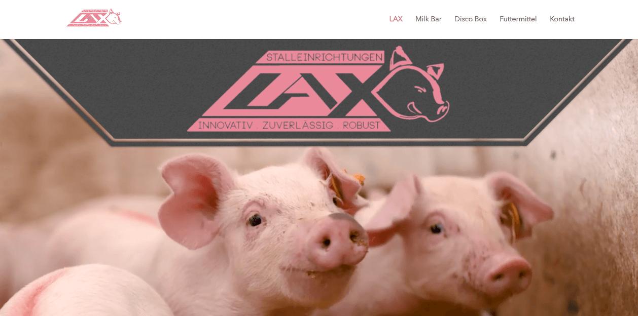 Image of Lax Stalleinrichtung in Geldern: Schmackhaftes Ferkelfutter für jeden Schweinebetrieb