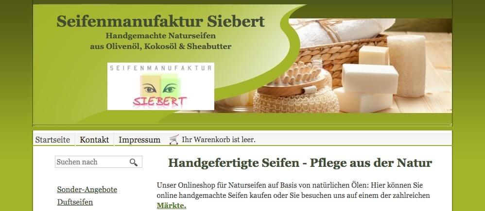 Image of Hochwertige Seifen ohne Palmöl von der Seifenmanufaktur Siebert in Köln